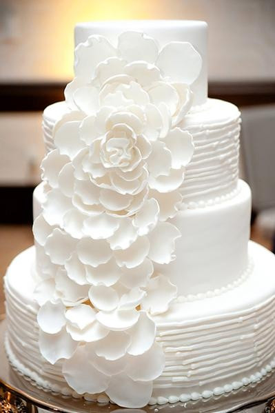 All White Wedding Cake  Louisville Wedding Blog The Local Louisville KY wedding