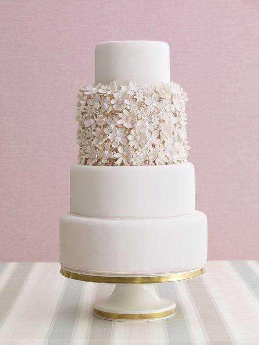 All White Wedding Cakes  30 Delicate White Wedding Cakes