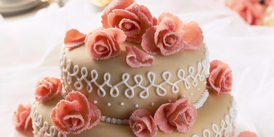 Almond Wedding Cake Recipe  Sweet Almond Wedding Cake
