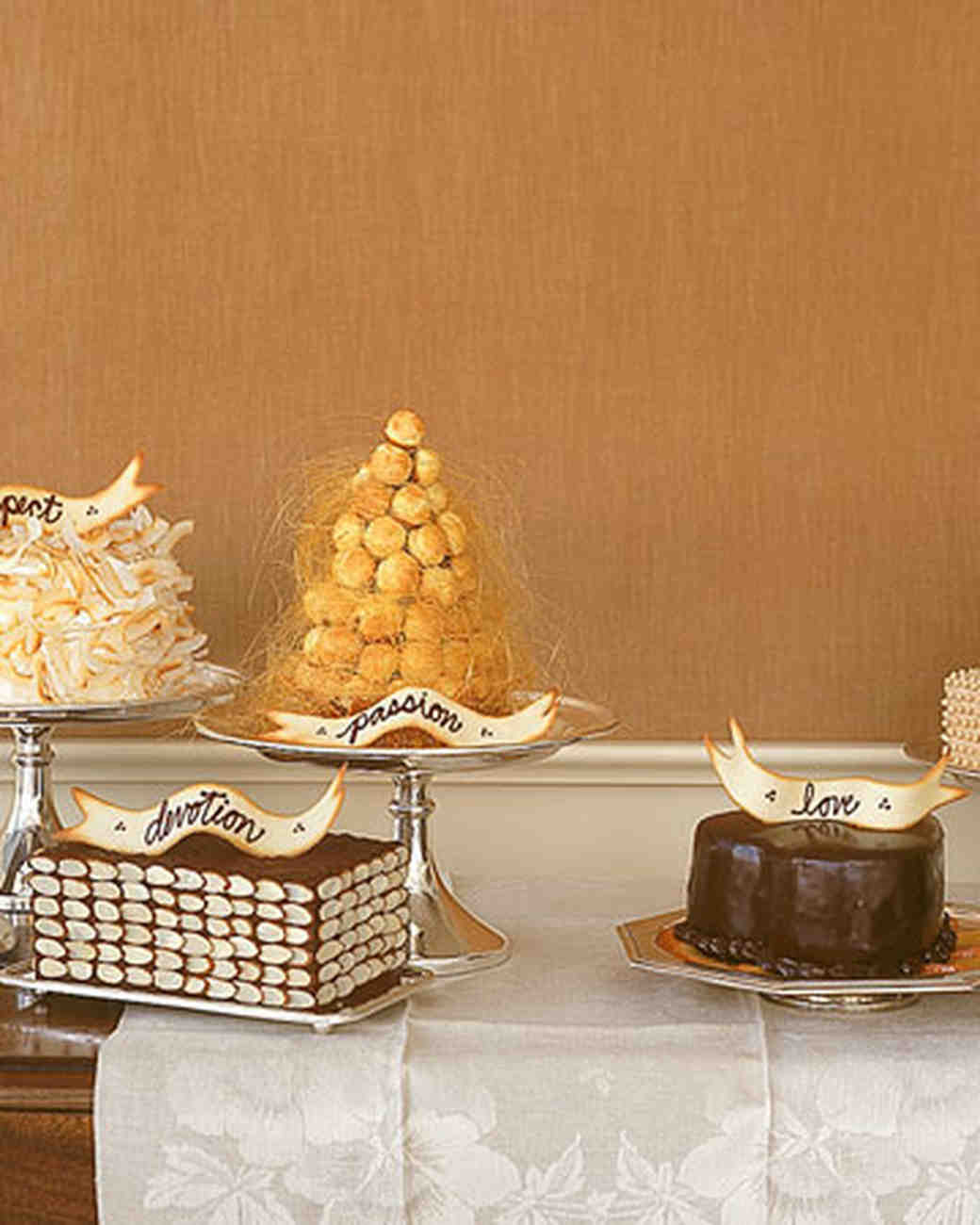 Almond Wedding Cake Recipe Martha Stewart  Five Little Cakes Three Tiered Brown Sugar Pound Cake