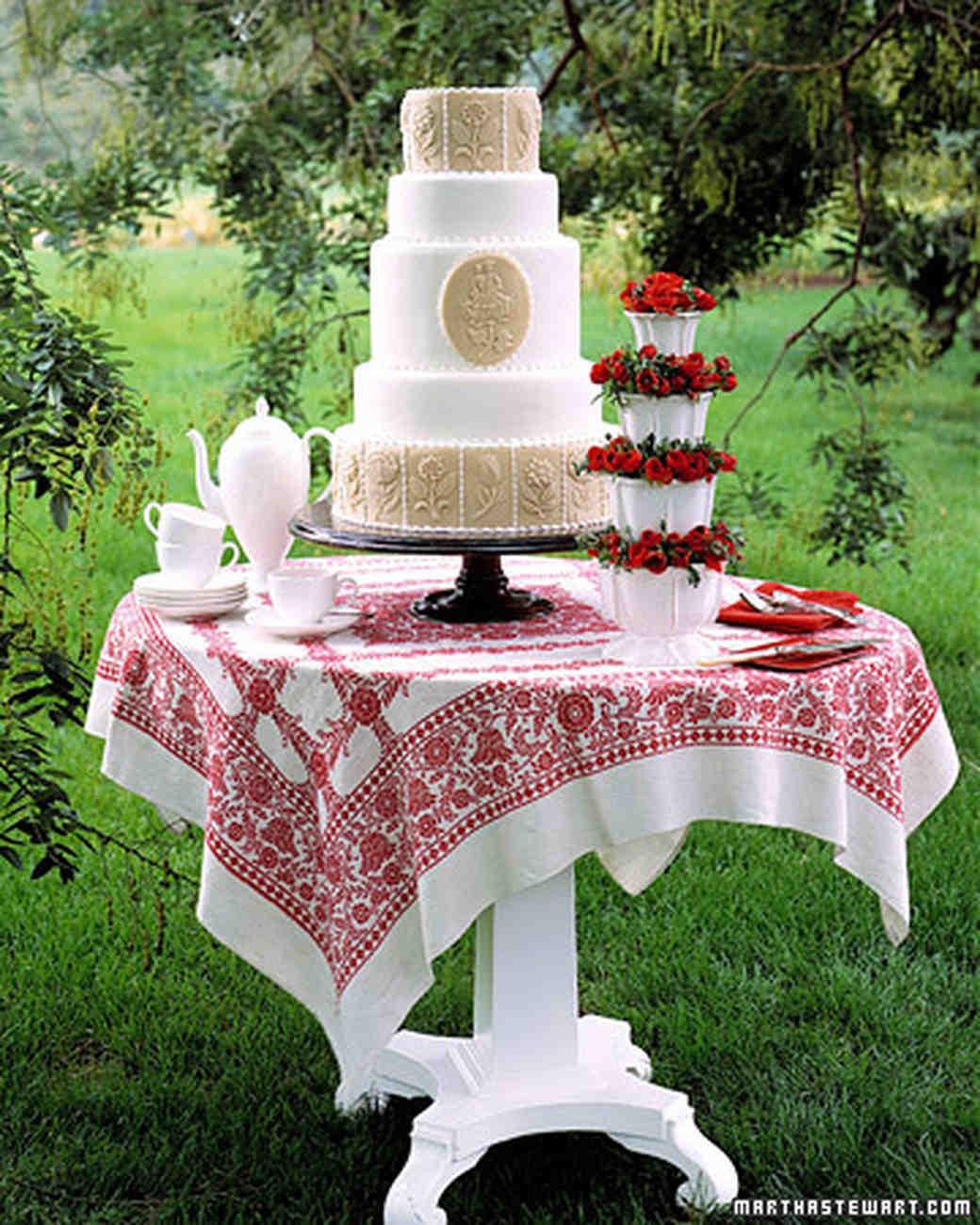 Almond Wedding Cake Recipe Martha Stewart  Marzipan