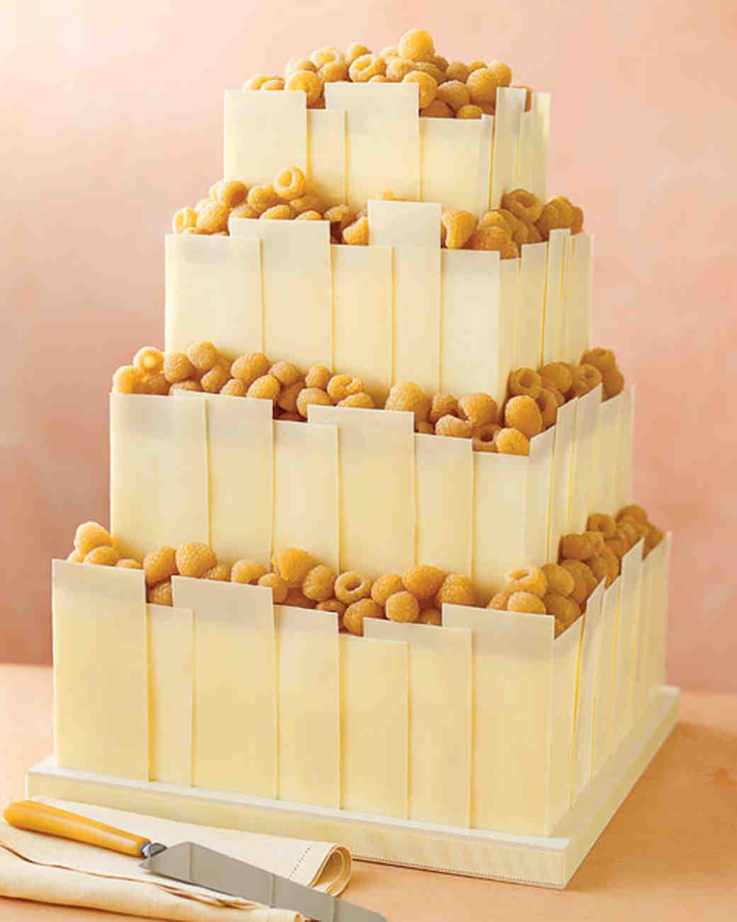 Almond Wedding Cake Recipe Martha Stewart  11 DIY Wedding Cake Ideas That Will Transform Your Tiers