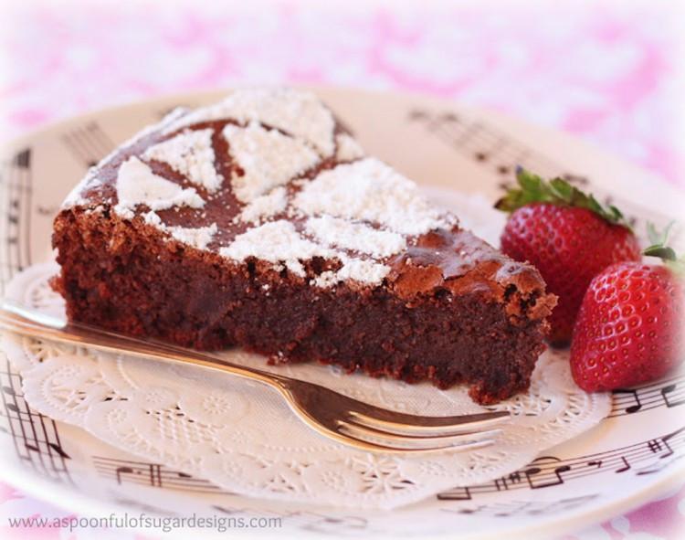 Almond Wedding Cake Recipe Martha Stewart  Martha Stewart Flourless Chocolate Almond Cake Chocolate