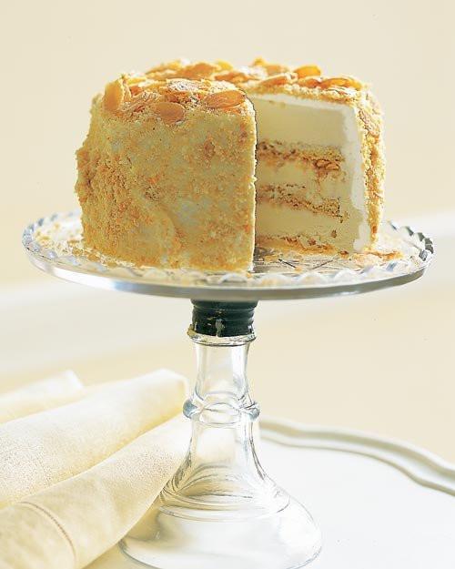 Almond Wedding Cake Recipe Martha Stewart  Pin Martha Stewarts Damask Cake 5 Tier Stencil Set By
