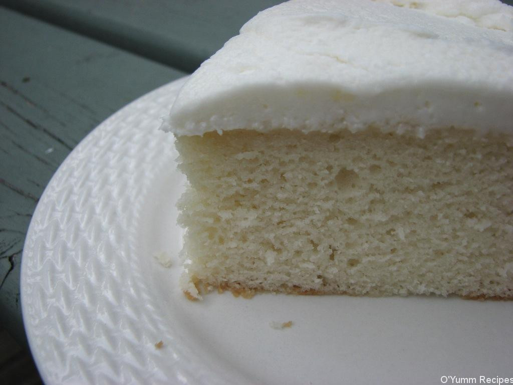 Almond Wedding Cake Recipe  White Almond Wedding Cake Recipe
