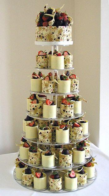 Alternative To Wedding Cakes  Best 25 Strawberry wedding cakes ideas on Pinterest