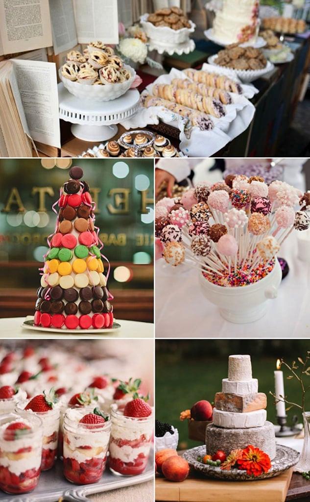 Alternative To Wedding Cakes  Wedding Cake Alternatives