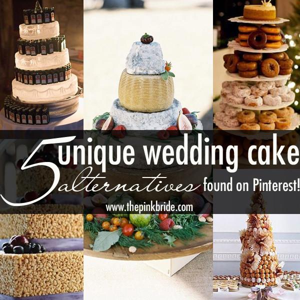 Alternative To Wedding Cakes  Unique Wedding Cake Alternatives The Pink Bride