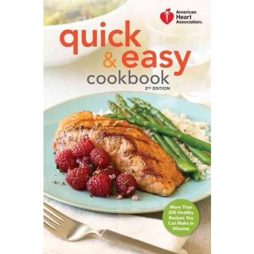 American Heart Association Heart Healthy Recipes  American Heart Association Quick & Easy Cookbook More