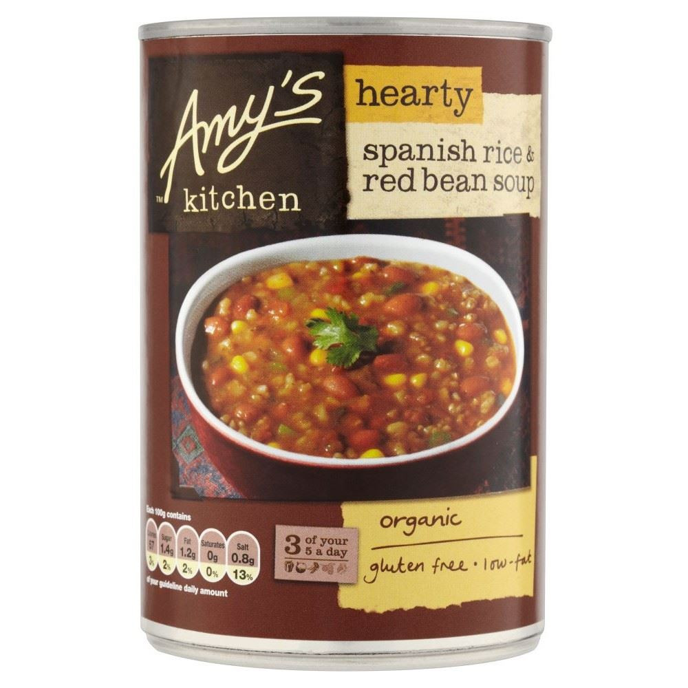 Amy's organic Burritos Best 20 Amy S Kitchen organic Hearty Spanish Rice & Red Bean soup