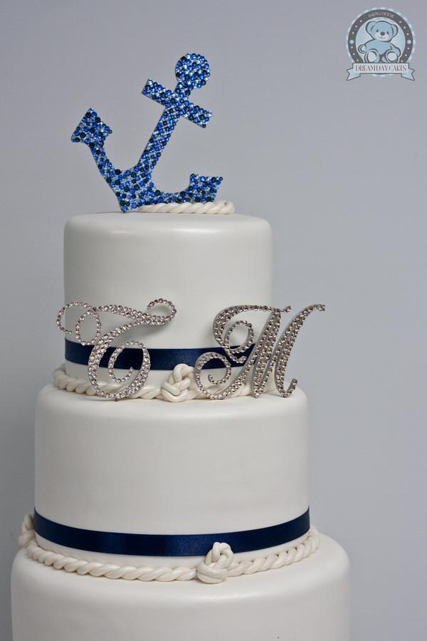 Anchor Wedding Cakes  Gainesville Wedding Cake Season