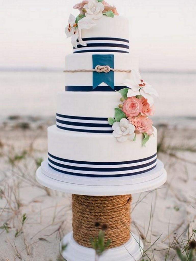 Anchor Wedding Cakes  Nautical Wedding 10 ways to Rock Your Nautical Wedding