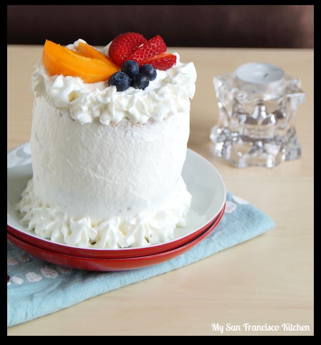 Angel Food Wedding Cakes  Mini Angel Food Fruit Cake
