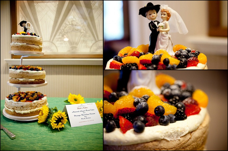 Angel Food Wedding Cakes  Angel food wedding cake idea in 2017