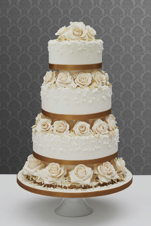 Antique Wedding Cakes  Vintage Wedding Cakes How To Make Yours Authentic