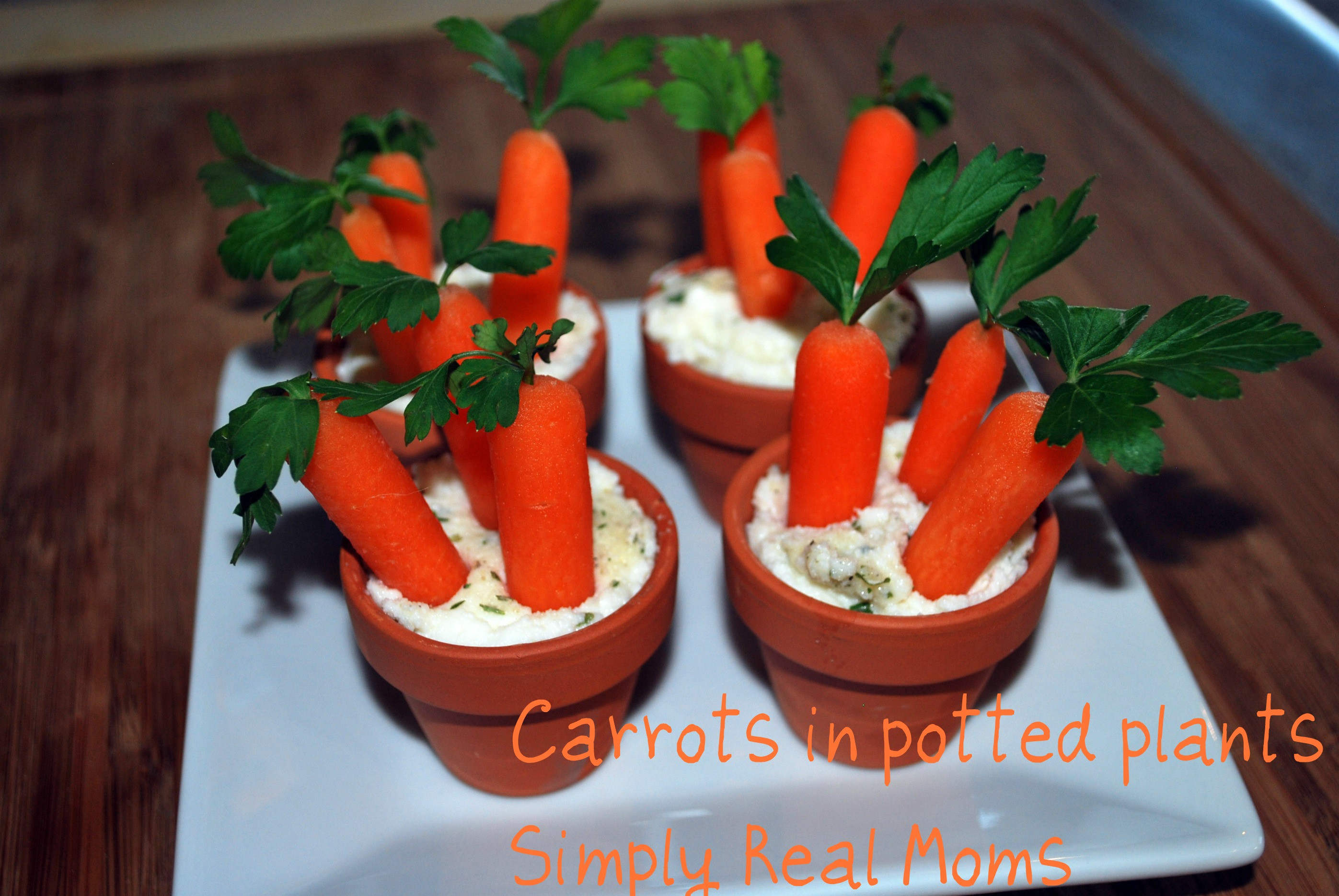 Appetizers For Easter  Easter Appetizer for Kids Potted Carrots and Dip