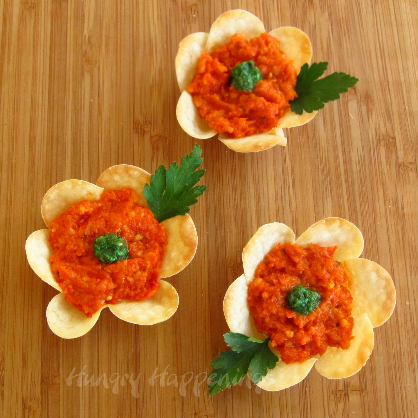 Appetizers For Easter  Flower Crisps Appetizers Hungry Happenings Easter Recipes