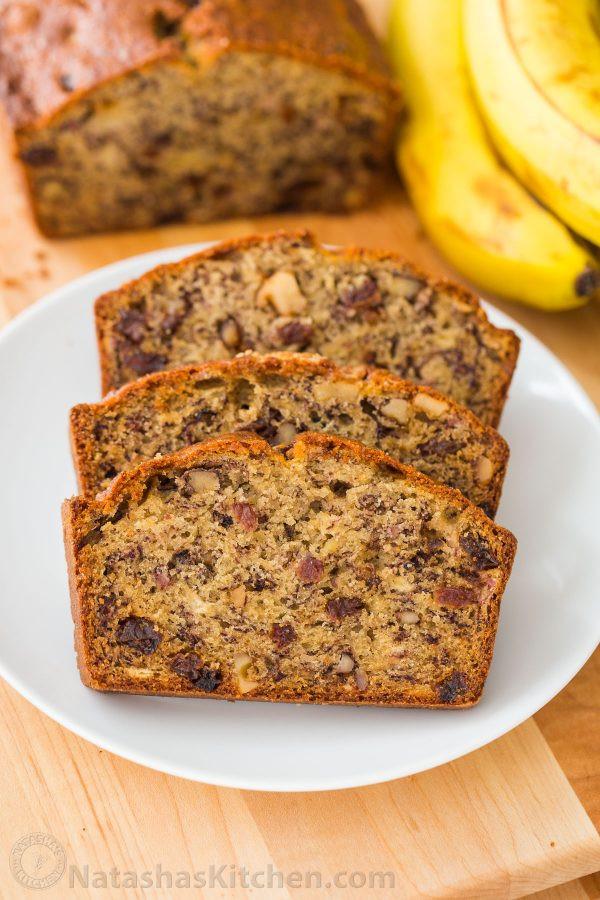 Apple Banana Bread Recipe Healthy  Banana Bread Recipe VIDEO NatashasKitchen