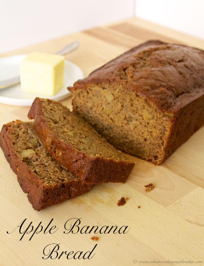 Apple Banana Bread Recipe Healthy  Apple Banana Bread she Ruthie so she says