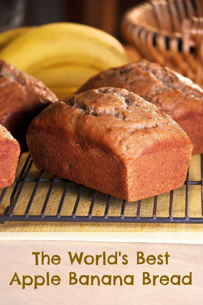 Apple Banana Bread Recipe Healthy  apple banana bread