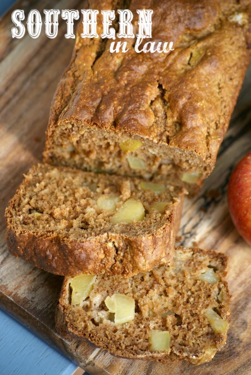 Apple Bread Healthy  Southern In Law Recipe Healthy Apple Bread