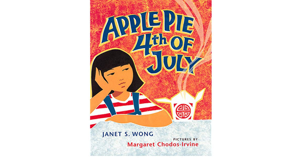 Apple Pie 4Th Of July  Apple Pie Fourth of July by Janet S Wong