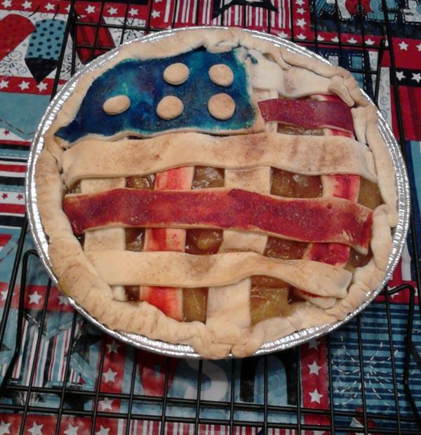 Apple Pie Fourth Of July  4th July Apple Pie by fayfich