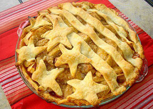 Apple Pie Fourth Of July  Apple Pie & 4th July Made For Each Other by seasonal