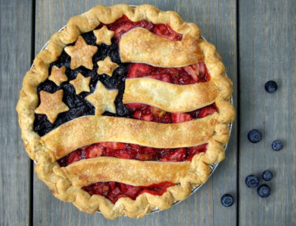 Apple Pie Fourth Of July  Happy 4th of July 'Merica theCHIVE
