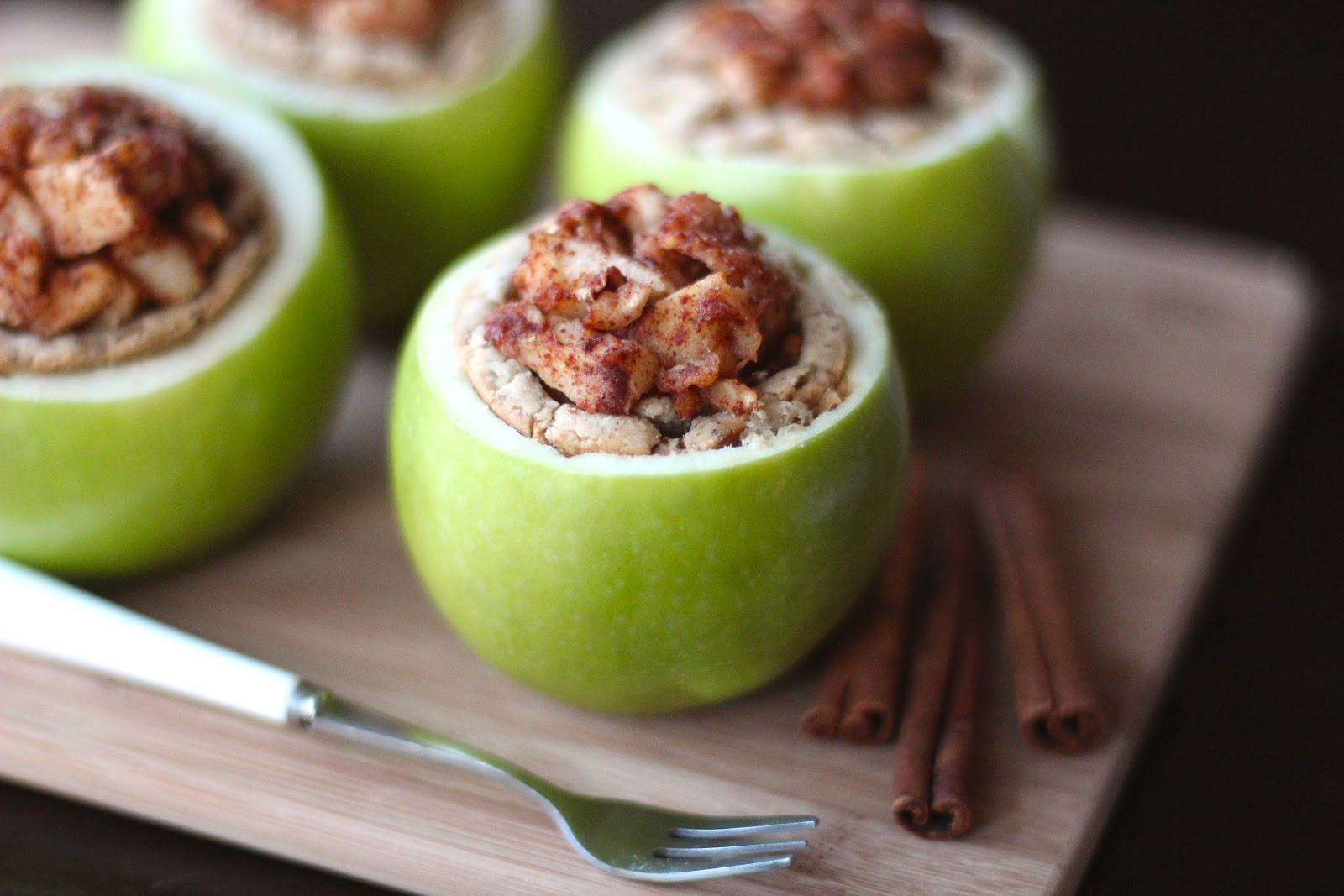 Apple Recipes Healthy  Healthy Apple Pie in an Apple Desserts with Benefits