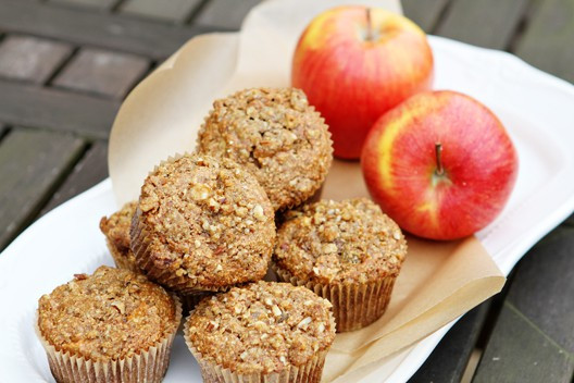 Apple Recipes Healthy  Heart Healthy Apple Oat Bran Muffins – Unsophisticook