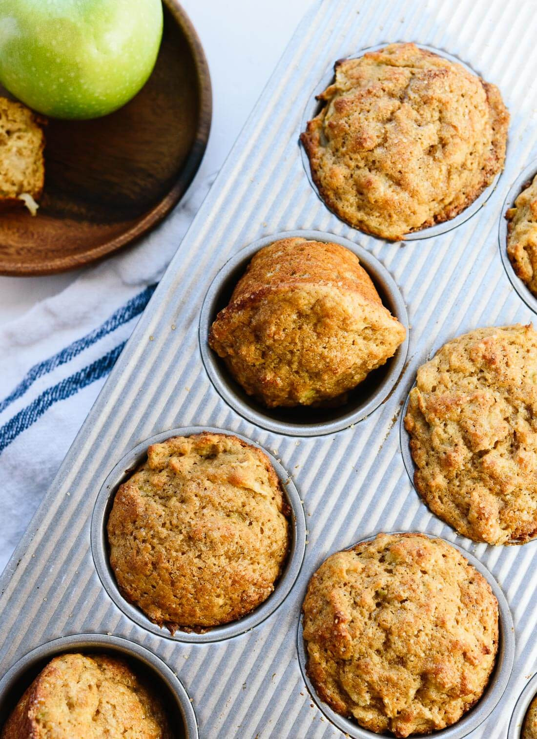 Apple Recipes Healthy  Healthy Apple Muffins Recipe Cookie and Kate
