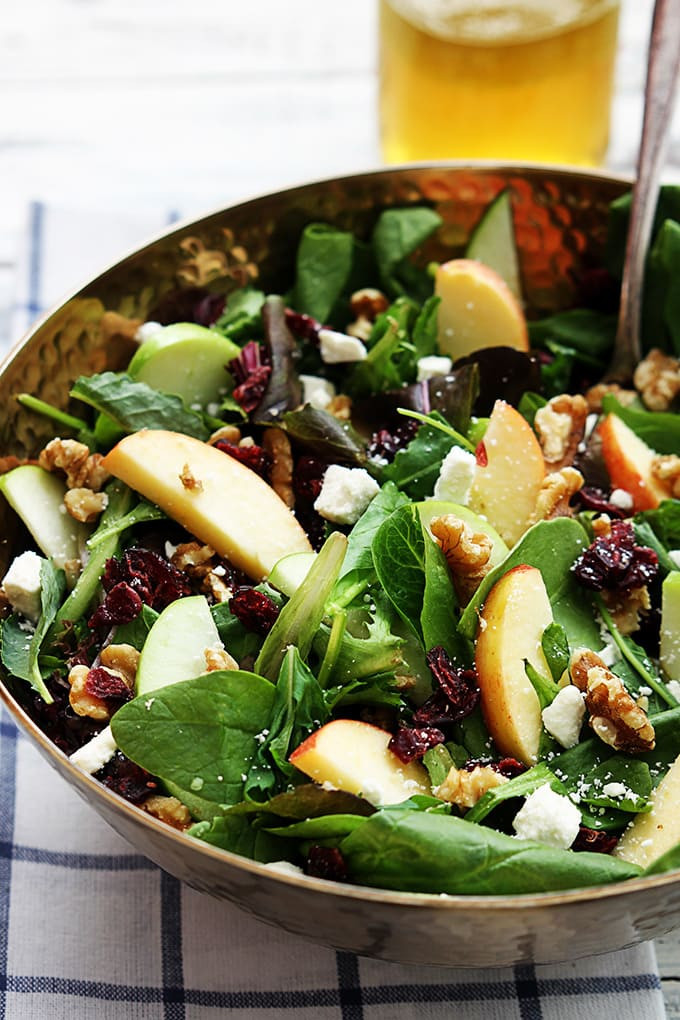 Apple Salad Recipes Healthy  30 Sweet and Savory Fall Apple Recipes Yummy Healthy Easy