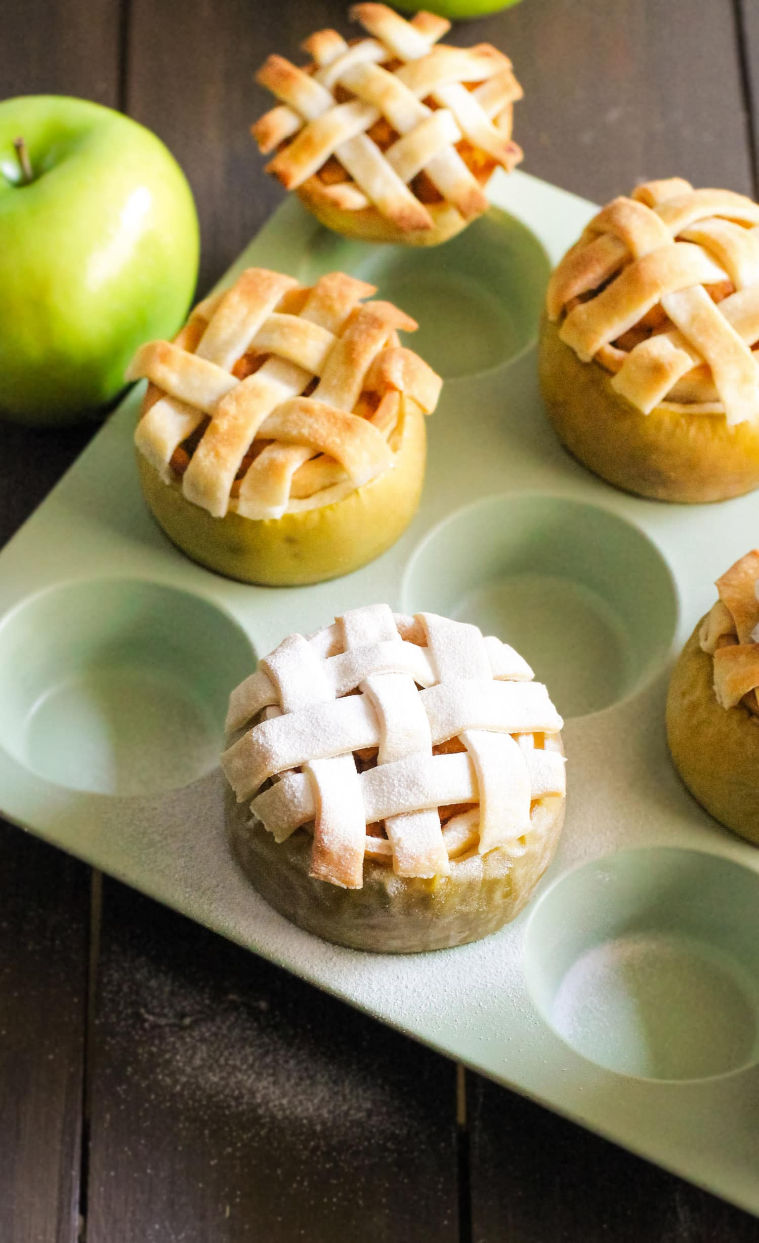 Apples Dessert Healthy  Guilt Free Apple Pie IN AN APPLE You ll wow everyone with