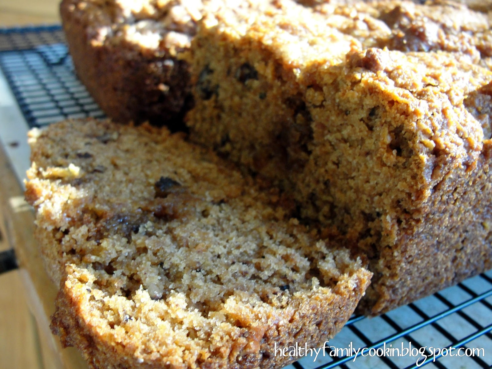 Applesauce Bread Healthy  Healthy Family Cookin Applesauce Bread