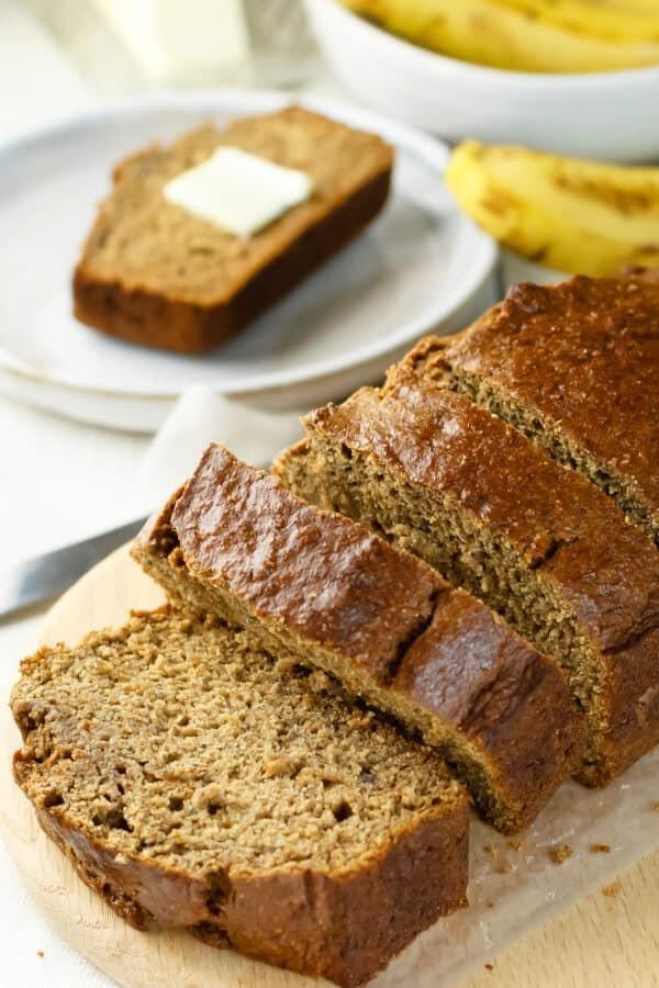 Applesauce Bread Healthy  Healthy Banana Bread with Applesauce Recipe