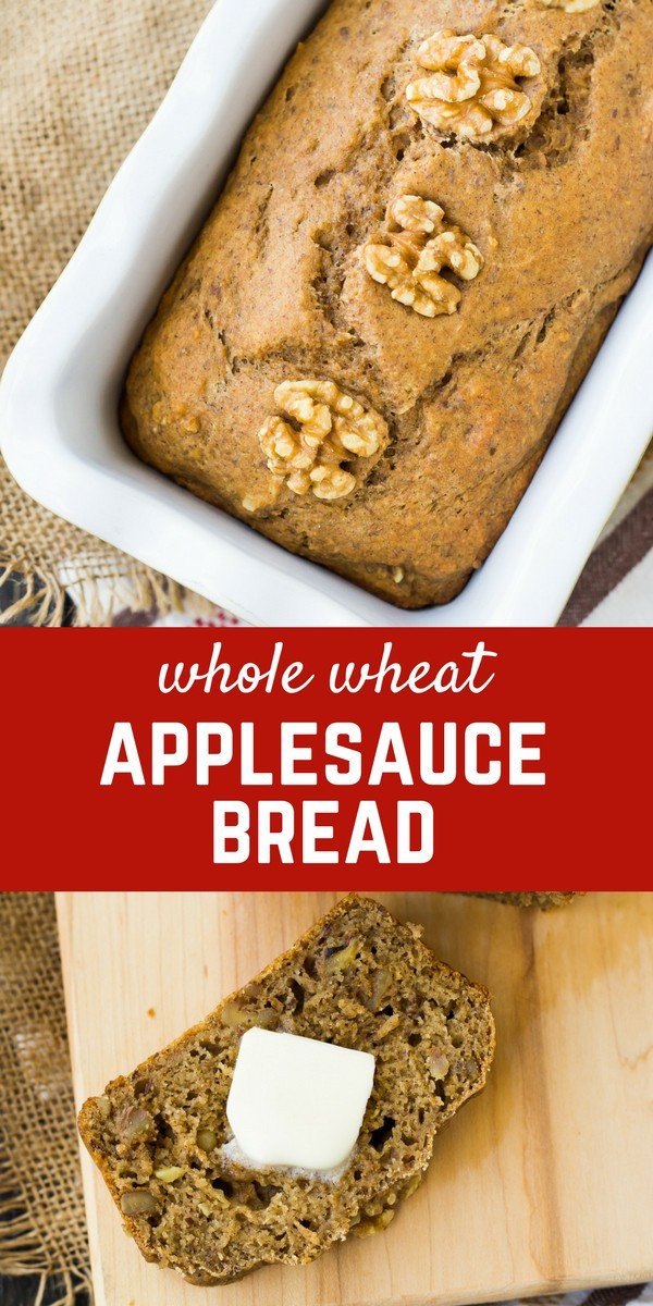 Applesauce Bread Healthy  Whole Wheat Applesauce Bread with Walnuts Rachel Cooks