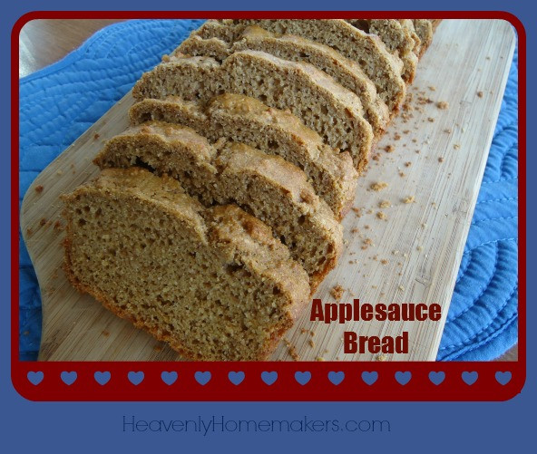 Applesauce Bread Healthy  Healthy Treat for Today Applesauce Bread Heavenly