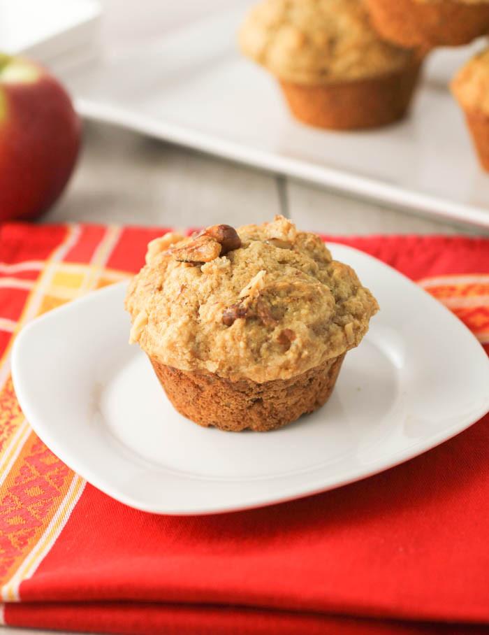 Applesauce Muffins Healthy  Applesauce Muffins MuffinMonday citronlimette