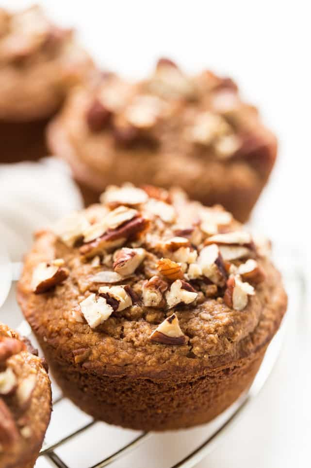 Applesauce Muffins Healthy  Healthy Honey Applesauce Blender Muffins Simply Quinoa