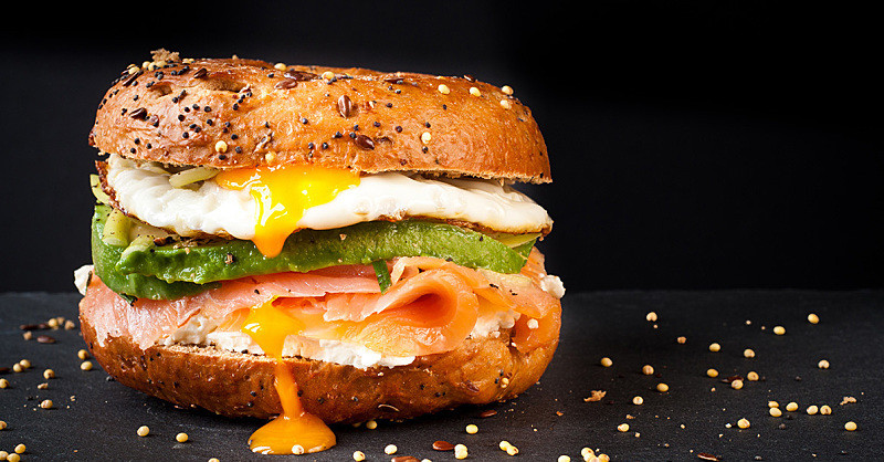 Are Bagels Healthy For Breakfast  Healthy Bagel Toppings How to Make Your Bagel Healthy