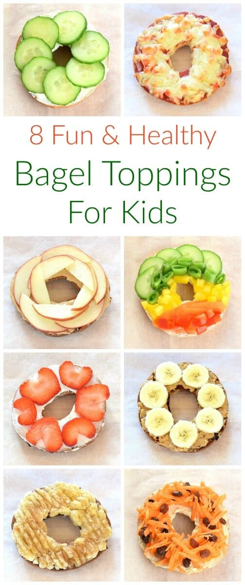 Are Bagels Healthy  8 Healthy Bagel Topping Ideas for Kids