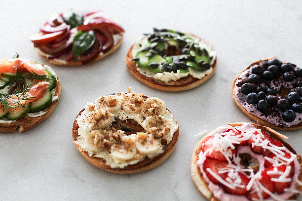 Are Bagels Healthy  6 MUST TRY HEALTHY BAGEL TOPPINGS WITH CREAM CHEESE