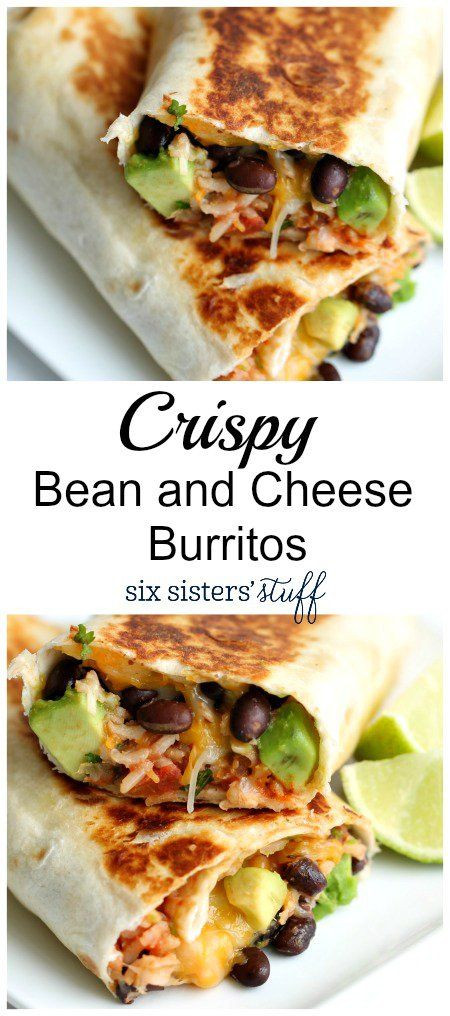 Are Bean and Cheese Burritos Healthy the Best Healthy Recipes Crispy Bean and Cheese Burritos From Six