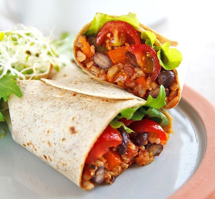 Are Bean Burritos Healthy  Vegan Bean Burrito Recipe – The Vegan Junction