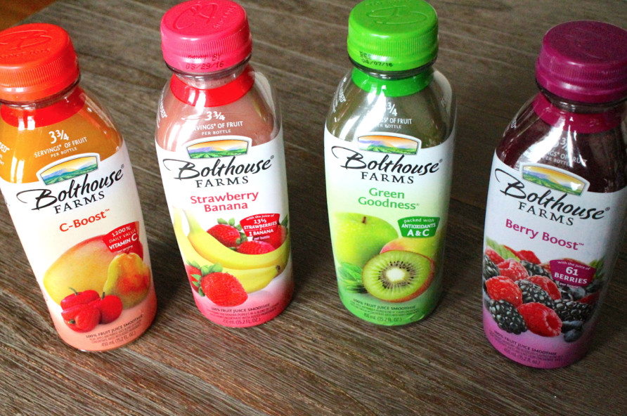 Are Bolthouse Farms Smoothies Healthy  Bolthouse Farms Giveaway