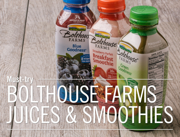 Are Bolthouse Farms Smoothies Healthy  Good Taste The story behind Bolthouse Farms juices