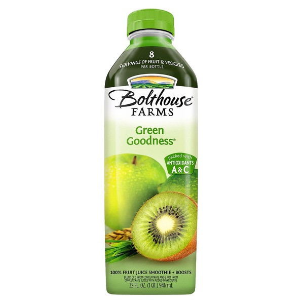 Are Bolthouse Farms Smoothies Healthy  Bolthouse Farms Green Goodness Fruit Juice Smoothie from