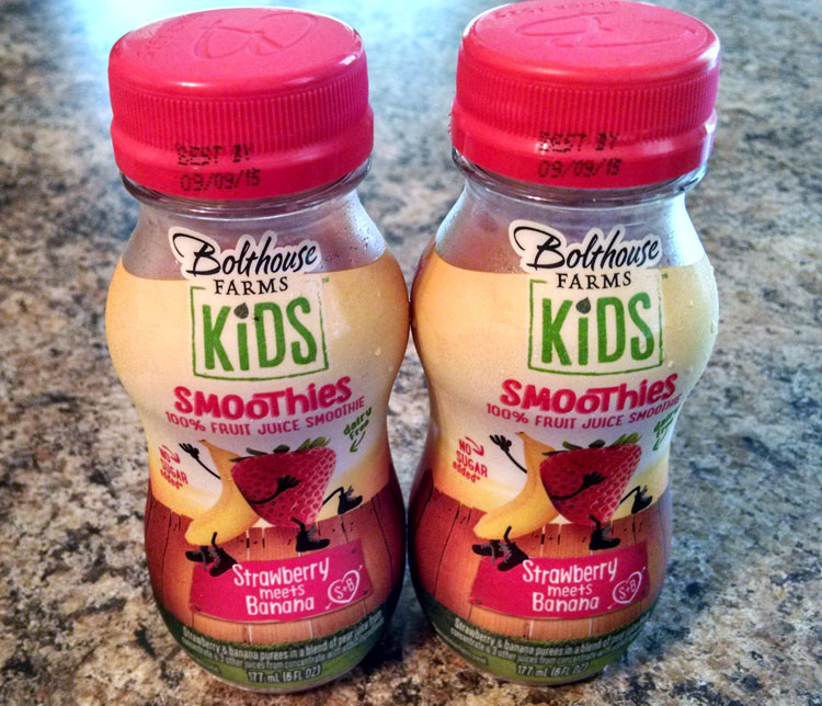 Are Bolthouse Farms Smoothies Healthy  Easy Healthy Snacking for Kids Win a Visit from the Snack