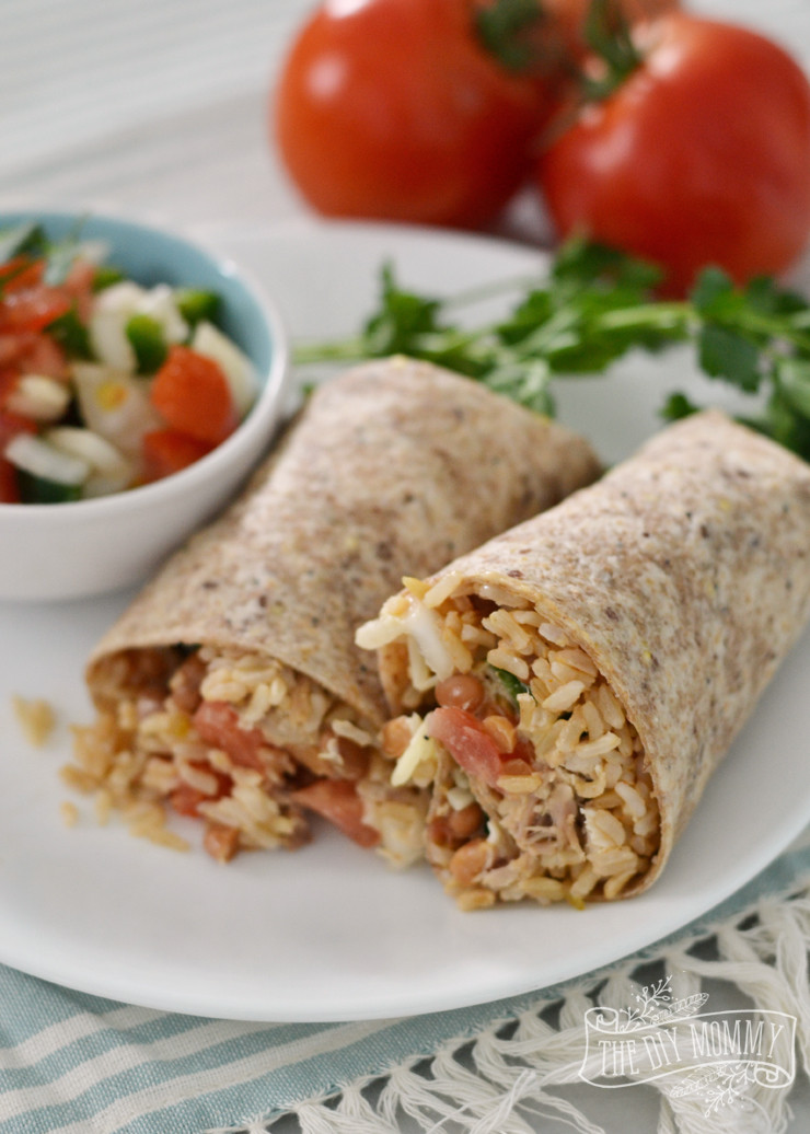 Are Burritos Healthy  healthy chicken burrito
